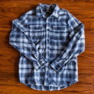 192e391f Nike SB Shirts | Button Up Flannel Shirt | Poshmark